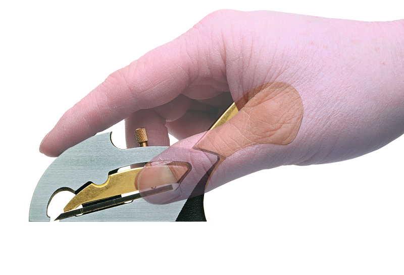 Veritas - tarkkuus kyntehöylä 10mm (Detail rabbet plane)