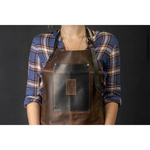 BeaverCraft - Genuine Leather Apron Brown