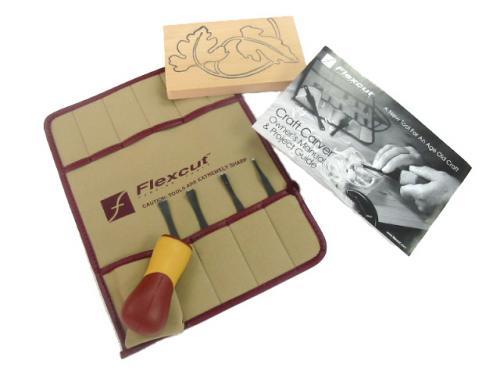 Flexcut - veistotalttasarja - 5kpl
