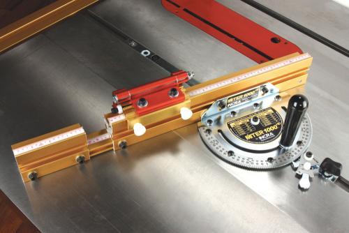 INCRA Miter 1000HD - tarkkuus katkaisu- / kulmavaste (1/10°) - uusi METRINEN versio