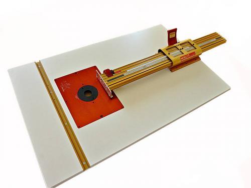 Jyrsinpöytä - 1000 x 580mm - VAIN PÖYTÄ - ei inserttiä - ERIKOISTARJOUS