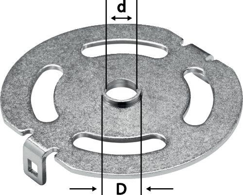 Festool - Kopiointirengas KR-D 13,8/OF 1400