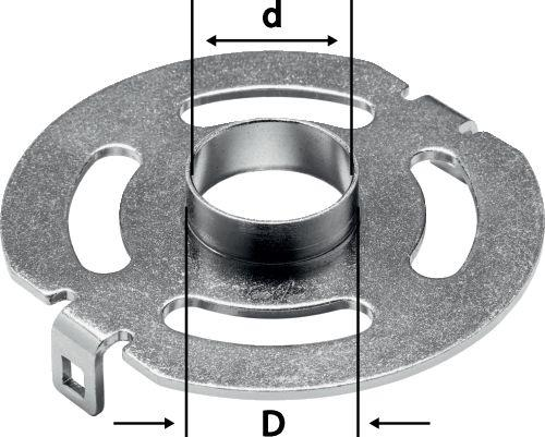 Festool - Kopiointirengas KR-D 27,0/OF 1400