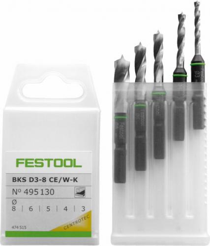 Festool - Poranteräkasetti BKS D 3-8 CE/W-K
