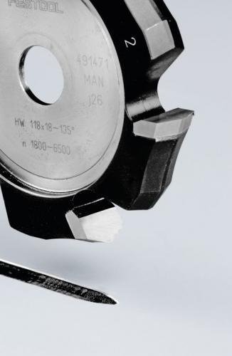 Festool - V-urajyrsin HW 118x18-135°/Alu