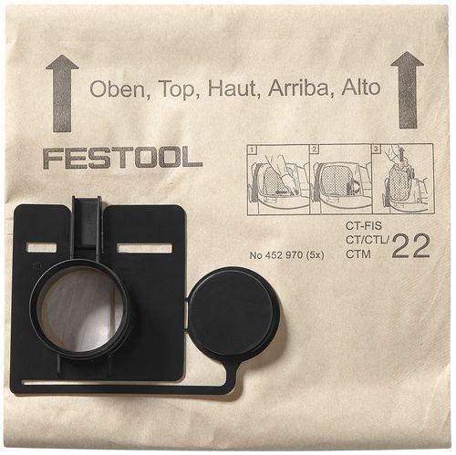 Festool - Pölypussi FIS-CT 22/5
