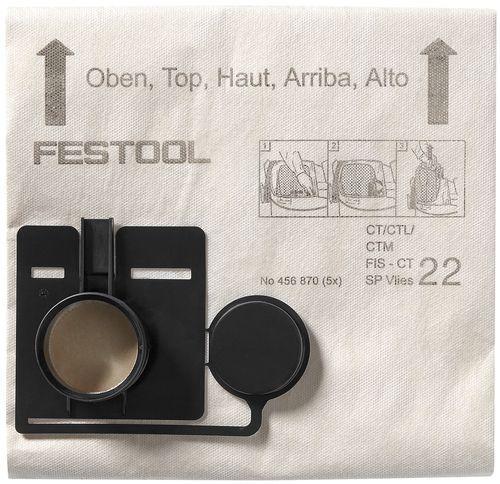 Festool - Pölypussi FIS-CT 22 SP VLIES/5