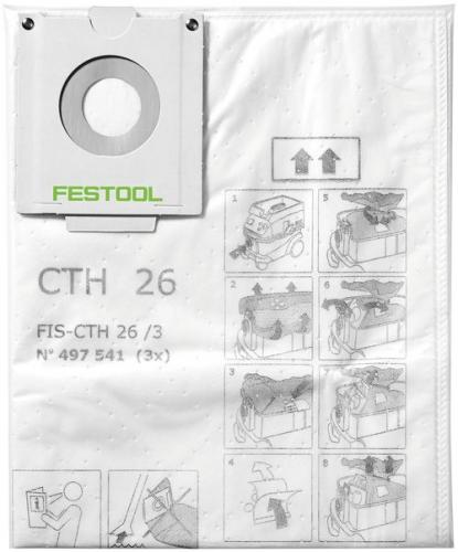 Festool - Pölypussi FIS-CTH 26/3