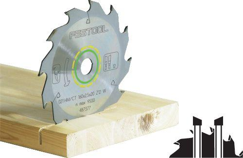 Festool - Vakiosahanterä 160x1,8x20 W18