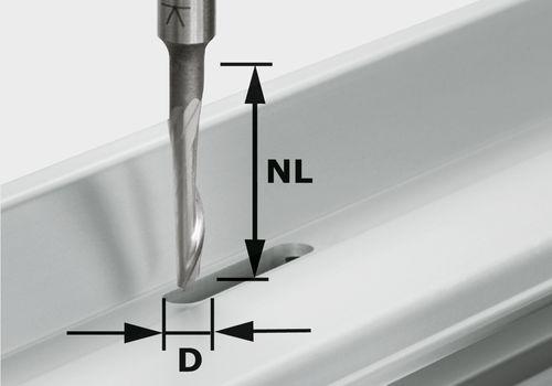Festool - Alumiinijyrsin HS S8 D5/NL23
