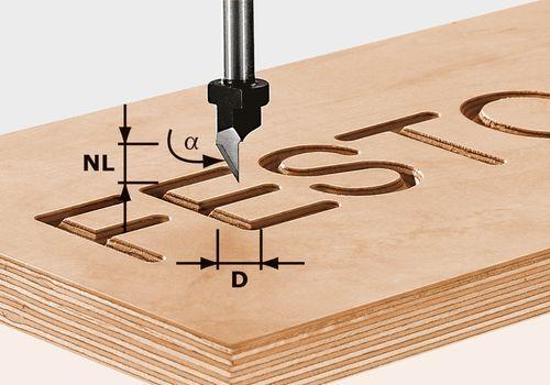 Festool - Kirjasinjyrsin HW S8 D11/60°