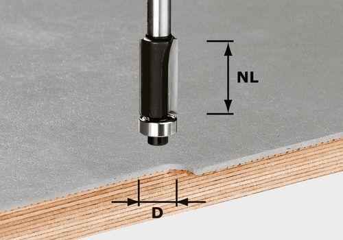 Festool - Tasausjyrsin HW S8 D12,7/NL25