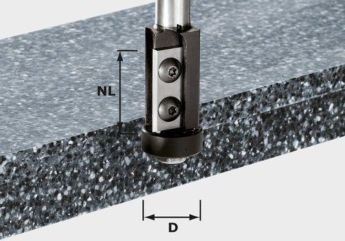 Festool - Kääntöteräinen tasoitusjyrsin HW S12 D21/30WM