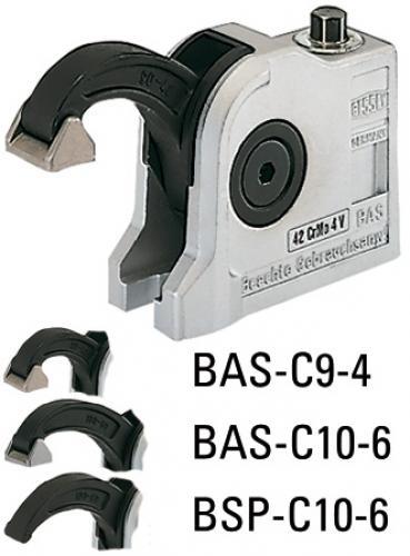 Bessey BAS-C kompakti puristin - Avoin kiinnitysreikä