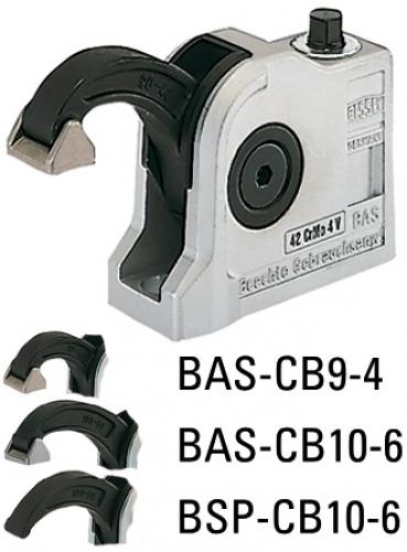 Bessey BAS-CB kompakti puristin - suljettu kiinnitysreikä