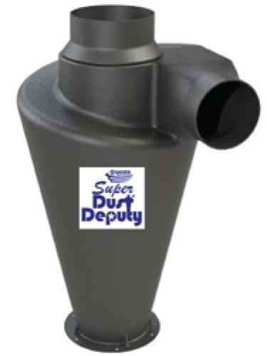 Super Dust Deputy esierotin - muovia