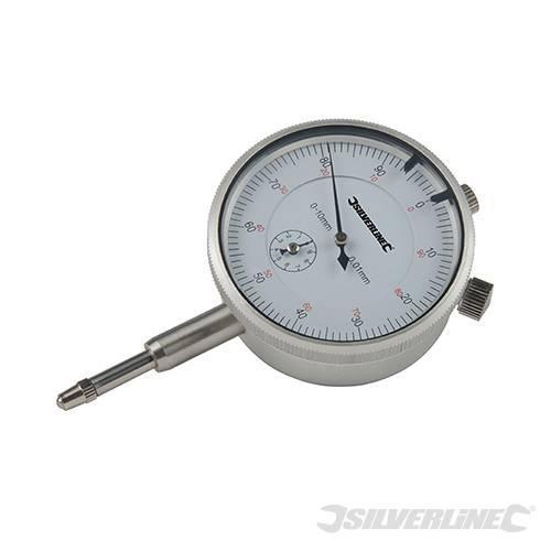Silverline - Metrinen mittakello 0 - 10mm