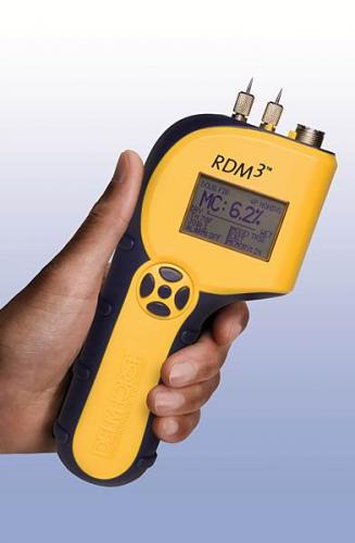 Delmhorst - RDM-3/FD/PLUS - Wood moisture meter (multilingual), MC 5-60%,  incl. 26-ES andPC/Kit  in deluxe case