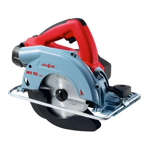 Mafell - Cordless Portable Circular Saw MS 55 / 36 V in the T-MAX