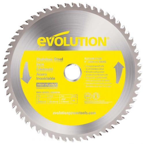 Pyörösahanterä-met, kovamet  230mm Z48 EVOLUTION