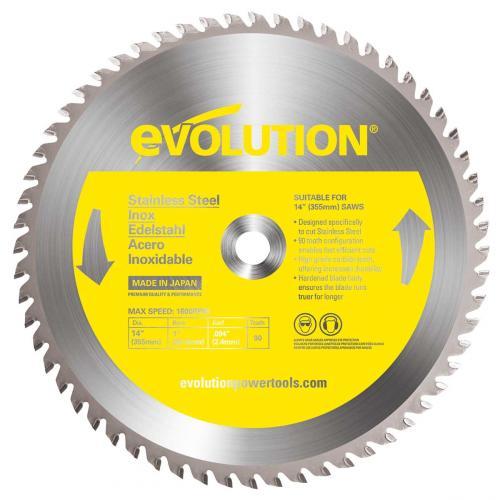 Pyörösahanterä-met, kovamet  355mm Z66 EVOLUTION