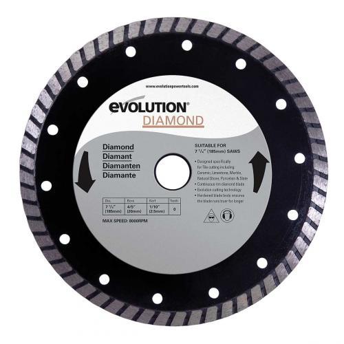 Pyörösahanterä-timantti  185mm  EVOLUTION