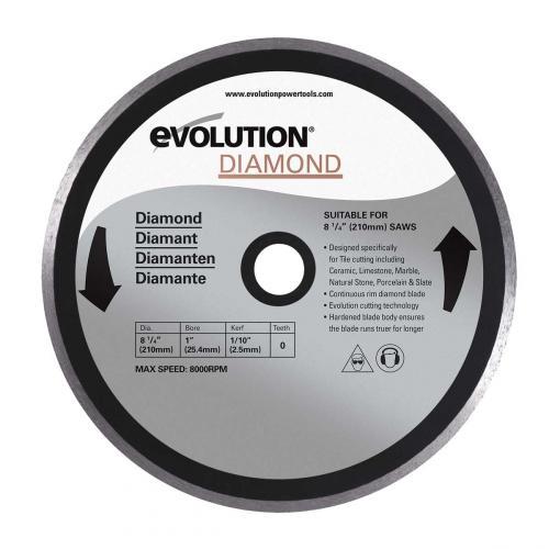 Pyörösahanterä-timantti  210mm  EVOLUTION