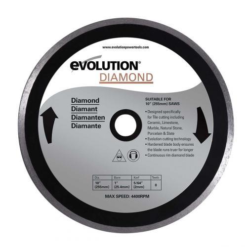 Pyörösahanterä-timantti  255mm  EVOLUTION
