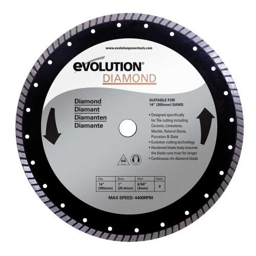 Pyörösahanterä-timantti  305mm  EVOLUTION