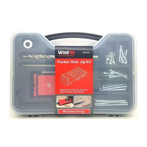 Woodfox - Twin Pocket Hole Jig Kit - Matches Kreg jig Jr R3