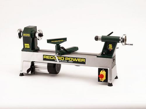 Record - DML250 Valurautainen Mini Sorvi – 250mm - M33 2MT