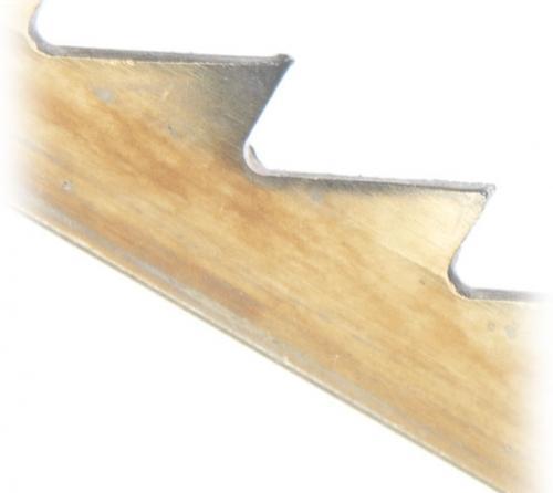 Record - 12 kpl Paketti - Regular Tooth Pin End HSS 10 TPI - Konelehtisahan terät