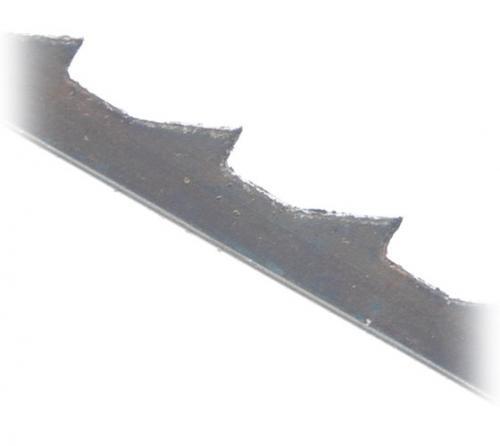 Record - 12 kpl Paketti - Skip Tooth Pin End HSS 18.5 TPI - Konelehtisahan terät