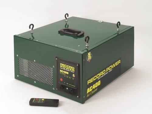 Record - Ilmanpuhdistin 1 mikronia, 2-vaiheinen suodatus, 3-nopeuksinen, kaukosäädettävä, ajastin - AC400