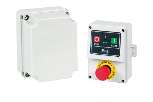 Repar2 -  Hätä-seis-kytkin matalajänniteohjauksella (mikrokytkinvalmius) - max. 7.5KW