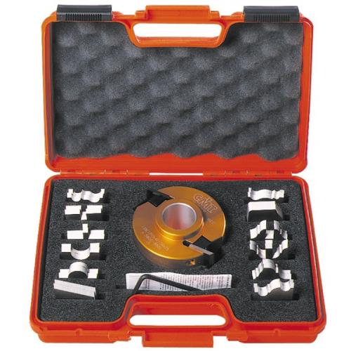 CMT -  13 PIECE MULTIPROFILE CUTTER HEAD SETS WITHOUT LIMITERS