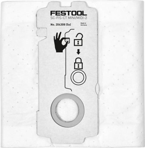 Festool - Selfclean-pölypussi SC-FIS-CT MINI/MIDI-2/5