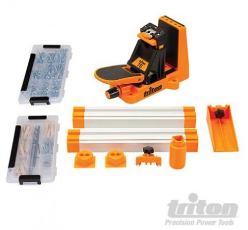 Triton - T6 Pocket-Hole Jig Master Set 12pce