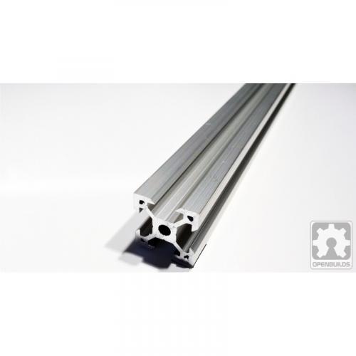 Alumiiniprofiili - V-ura - kirkas anodisoitu - 20x20mm | 1500mm