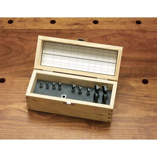Leigh - Dovetail Jig Cutter Set 12pcs