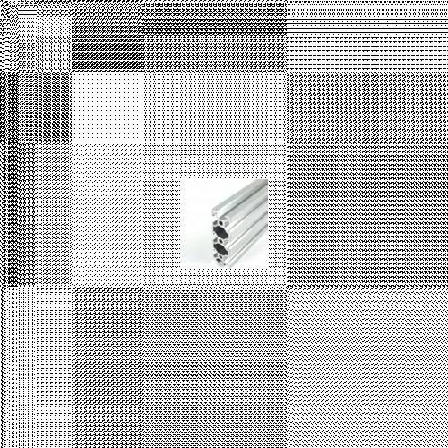 Alumiiniprofiili - V-ura - kirkas anodisoitu - 20x60mm | 1000mm