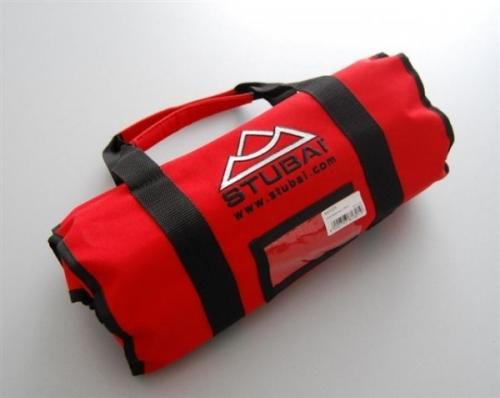 Stubai - Laadukas työkalutasku veistotaltoille - rullattava, kantokahvoilla - 20-taskua (ei sisällä työkaluja)