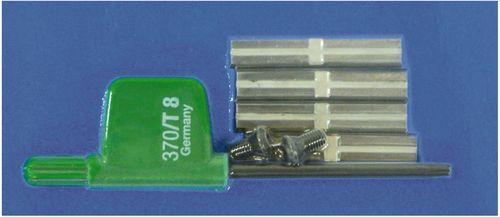 Festool - Jyrsinterän varateräsetti HW-WP 30x5,5x1,1 (4x)