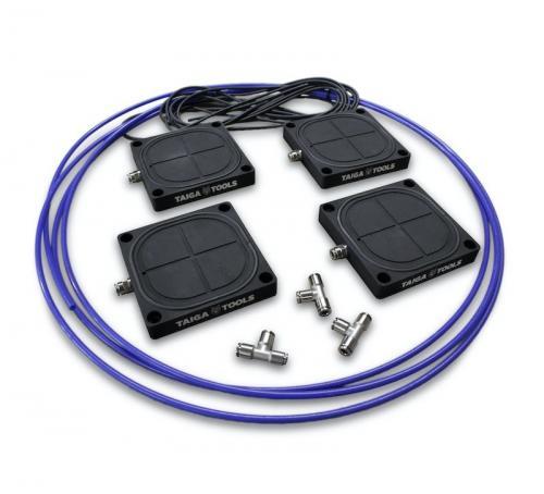 Taiga Tools - Vac Pods - PRO - Vakuumikiinnitysjärjestelmä - 4kpl vakuumi kiinnityksiä