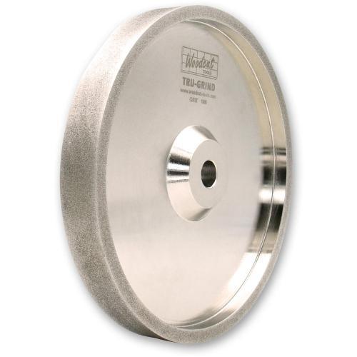 Woodcut - CBN hiomalaikka smirkelille / penkkihiomakoneelle 150 x 25 x 12.7mm 180G