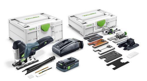 Festool - Akkupistosaha PSC 420 HPC 4,0 EBI-Set CARVEX