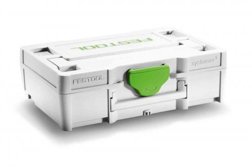 Festool - Systainer³ SYS3 XXS 33 GRY - Micro