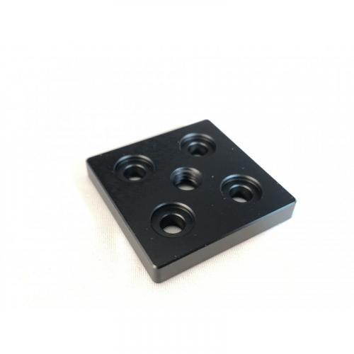 40x40 End Cap with M8 Center hole