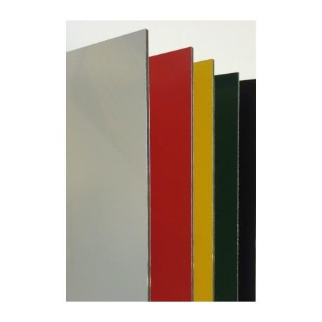 Aluminum Sandwich Sheets - 3,6 x 370x505mm - Color : White