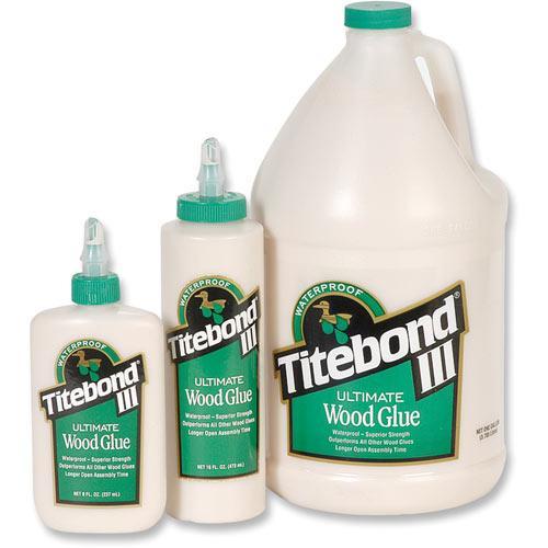 Titebond Ultimate III - vedenkestävä puuliima